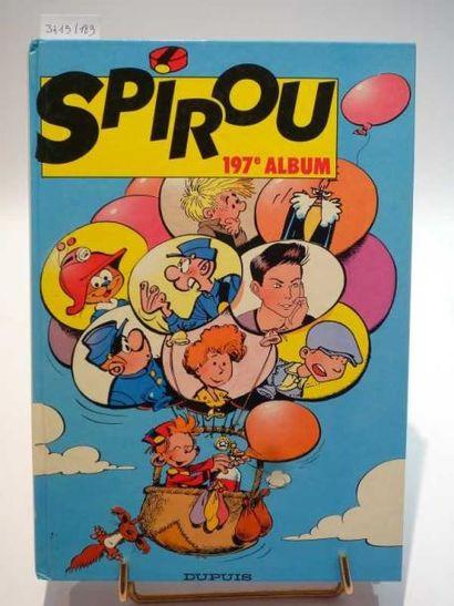 ALBUM SPIROU n°197. Usures d'usage. État...