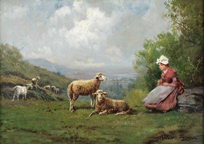 LEVIGNE Théodore (1848-1912)