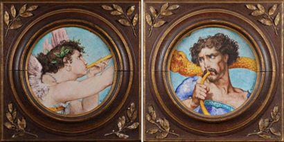 Théodore DECK (1823-1891) et Victor RANVIER (1832-1896)
