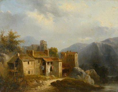 Christian BRUNE (1793-1849), Ecole romantique