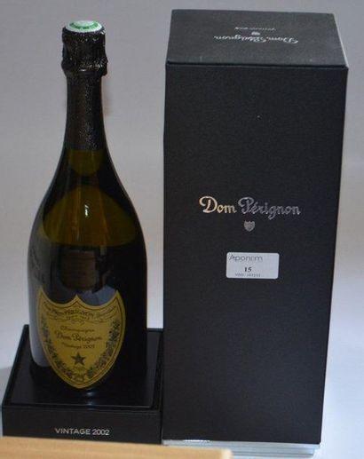 1 DOM PERIGNON (coffret) 2002
