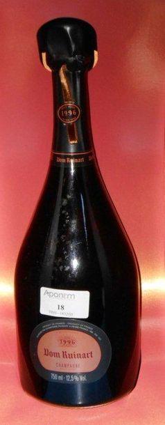 1 DON RUINART Rosé (coffret) 1996