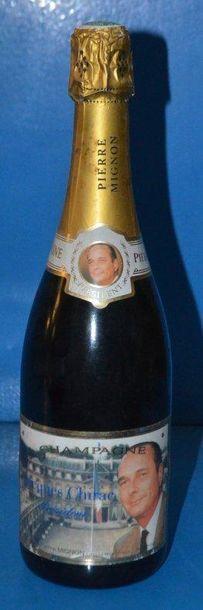 1 Champagne Jacques Chirac Président 1995...