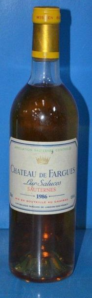 1 Château DE FARGUES Lur Saluces - Sauternes...
