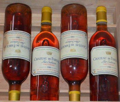 4 Château DE FARGUES Lur Saluces - Sauternes...