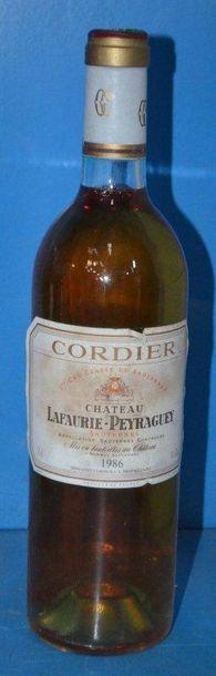1 Château LAFAURIE PEYRAGUEY - Sauternes...