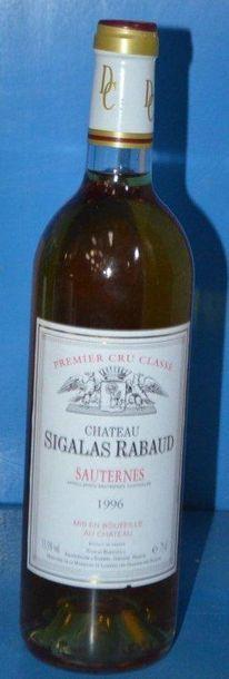 1 Château SIGALAS RABAUD - Sauternes 1 GCC...