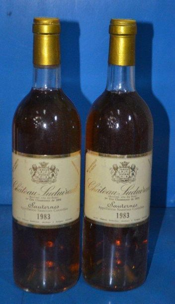 2 Château SUDUIRAUT - Sauternes 1er GCC ...
