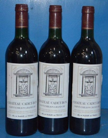 3 Château CADET BON - GC 1989