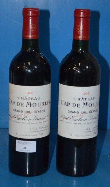 2 Château CAP DU MOURLIN - GC 1990