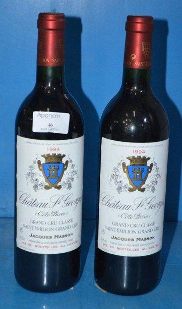 2 Château SAINT GEORGES COTE PAVIE 1994