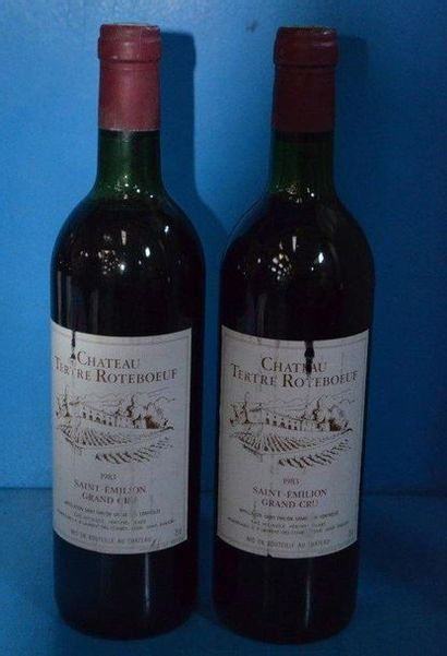 2 Château TERTRE ROTEBOEUF - GC 1983