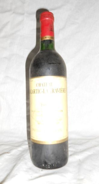 1 CHÂTEAU MALARTIC LAGRAVIERES 1988