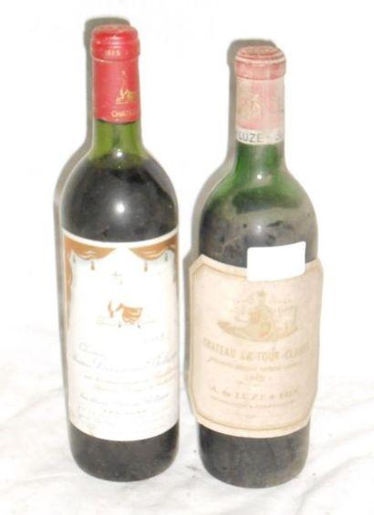 1 CHÂTEAU MOUTON BARONNE 1983 + 1 Château...