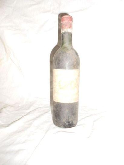 1 CHÂTEAU MARGAUX 1962 (vidange)