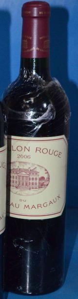 1 PAVILLON ROUGE du château MARGAUX 2006
