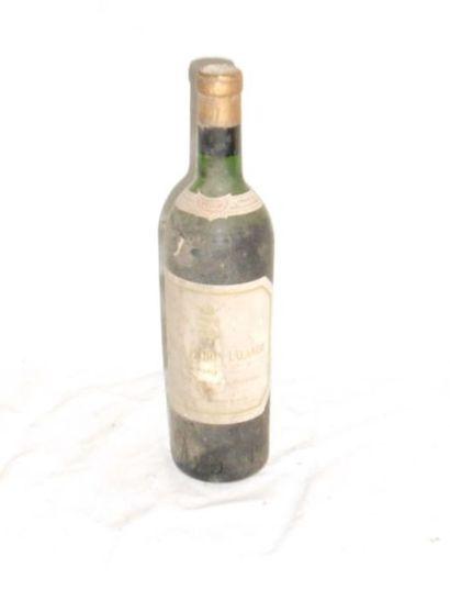 1 CHÂTEAU PICHON COMTESSE 1961 (vidange)