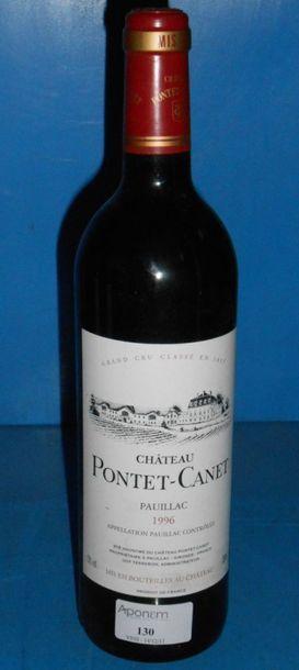 1 château PONTET CANET - 5ème GCC 1996