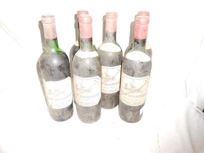 3 CHÂTEAU BEYCHEVELLE 1962 (dont une vidange),...
