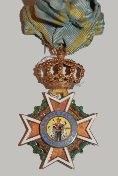Saxe Ordre de Saint Henri.