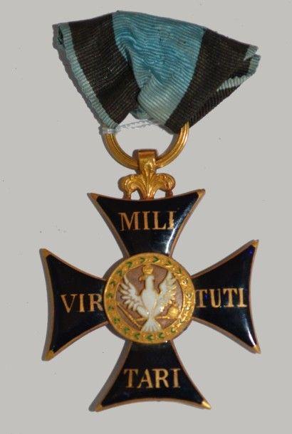 Pologne Ordre du Virtuti Militari.