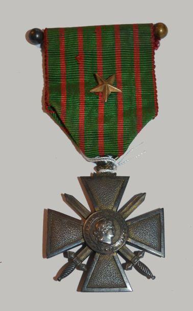 France Croix de guerre 1914-1917.