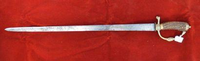 Couteau de vénerie.