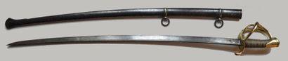 Sabre de Cavalerie légère, modèle 1816.