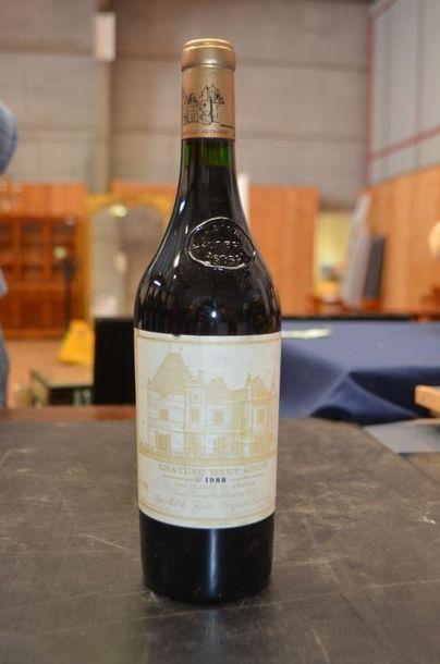 CHÂTEAU HAUT BRION, 1 bouteille, 1988.