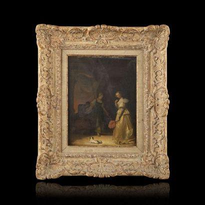 Attribué à Camille ROQUEPLAN (1800-1855)