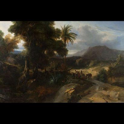 Jules-Louis-Philippe COIGNET (Paris 1798-1860)