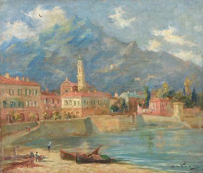 ECOLE ITALIENNE de la fin du XIXe - début du XXe