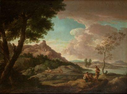 Jan Frans van BLOEMEN, dit l'ORIZZONTE(Anvers 1662 – Rome 1749)