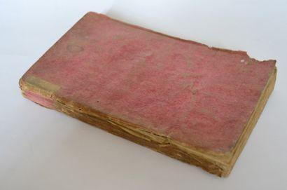 DIDEROT. Lettre sur les aveugles à l'usage de ceux qui voyent. Londres, 1749, broché...