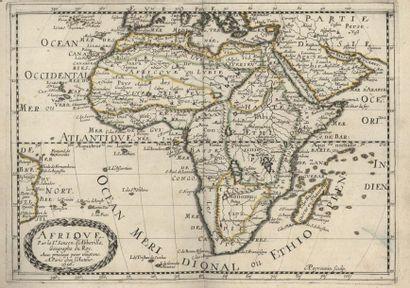 SANSON. Atlas 1656. 18 cartes afrique