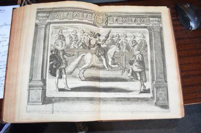 PLUVINEL Antoine de. L'instruction du Roy en l'exercice de monter à Cheval.  Paris,...
