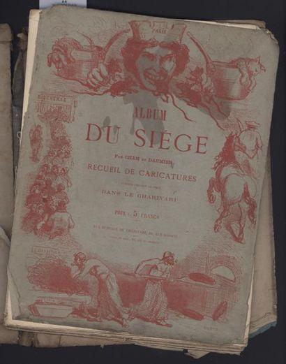 CHAM et DAUMIER. Album du Siège.