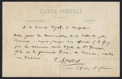 Frédéric MISTRAL (1830-1914). Carte postale...