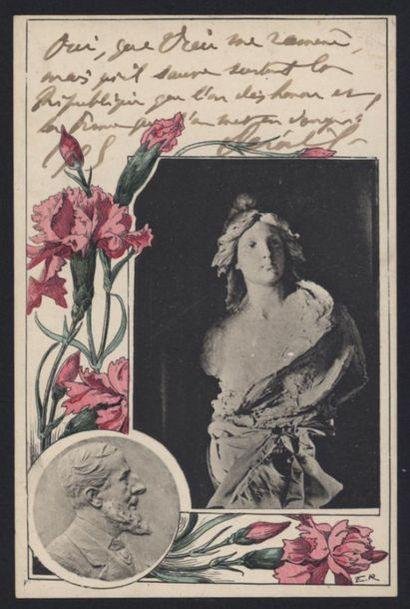 Paul DEROULEDE (1846-1914). Carte postale...