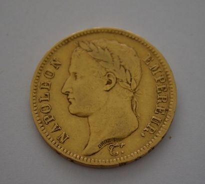 40 Francs OR 1811 A. P: 12,8 g