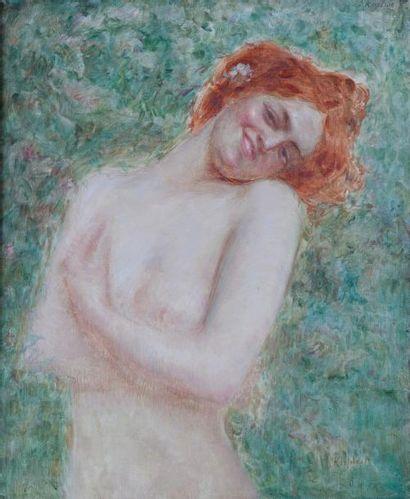 Jacques KAPLAN (1872-1949)  La Belle Rousse...