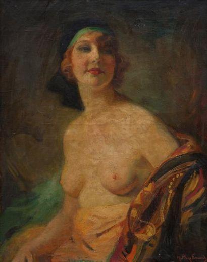 Marcial PLAZA-FERRAND (1876-1948) Elegante...