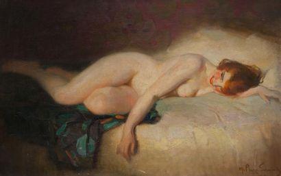 Marcial PLAZA-FERRAND (1876-1948) Femme nue...