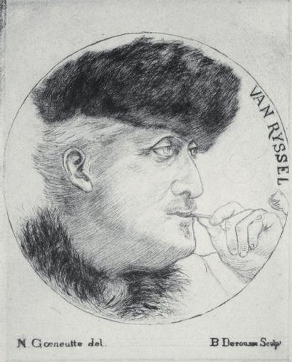 Norbert GOENEUTTE (1854-1894)et Blanche DEROUSSE (1873-1911)