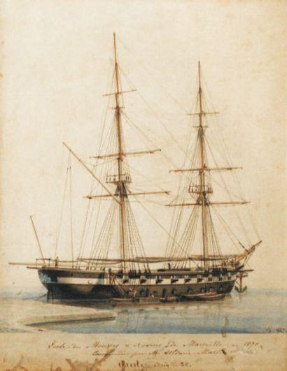 François ROUX (1811-1882, nommé P.O.M. en 1875).