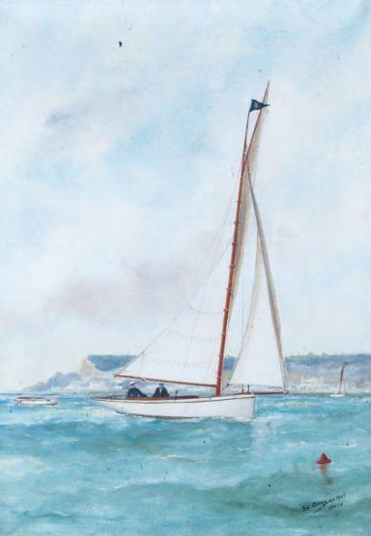 Edouard ADAM (1847-1929) ou Victor-Edouard (1868-1938).