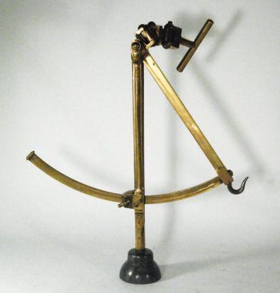 Indicateur d'inclinaison en bronze, acier...