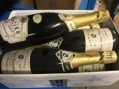 7 bts Champagne dont : 6 Jean Marie BANDOCK...