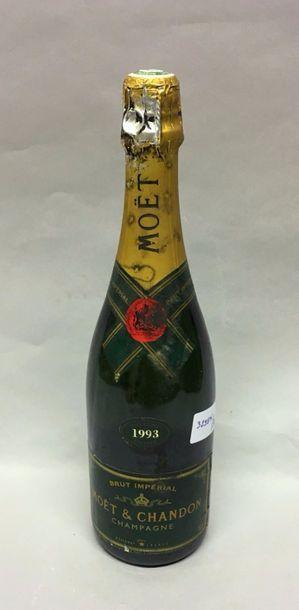 1 Btls CHAMPAGNE MOET et CHANDON 1993