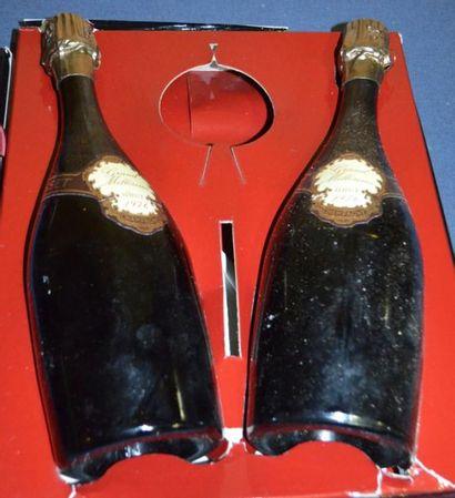 2 Bouteilles de Champagne Gosset 1976 dans...